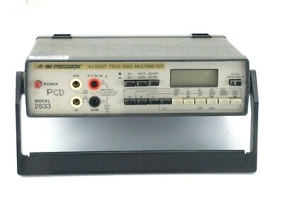 Bk Precision 2833 Digital Multimeter 4.5 Digit - As Is