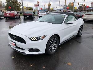 2015 Ford Mustang EcoBoost- REAR VIEW CAMERA, REMOTE STARTER