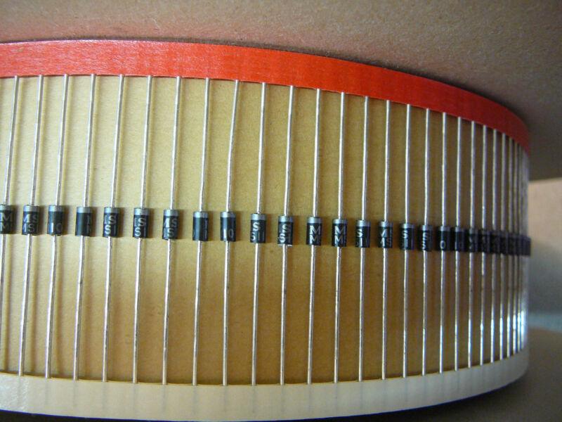 MICROSEMI MS110 1A 100V SCHOTTKY DIODE DO-41 PKG *** NEW ***  5/PKG
