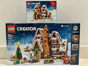 LEGO Gingerbread House 10267 and Exclusive Mini Gingerbread House