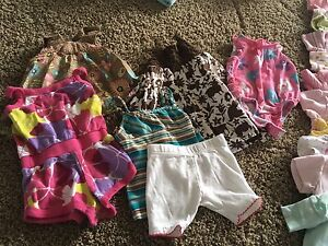 0-6 month summer girls clothes for sale?