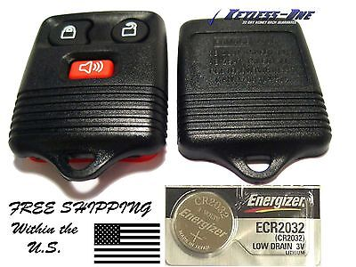 KEYLESS ENTRY REPLACEMENT REMOTE KEY FOB SHELL CASE FORD 3 BUTTON CWTWB1U331