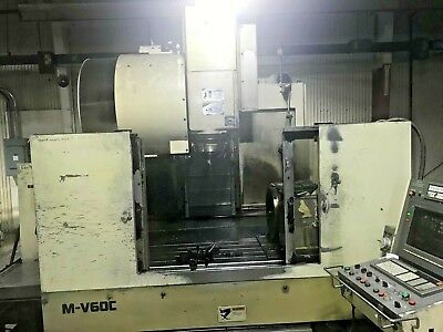 1993 Mitsubishi Mv60c Vertical Cnc Machining Center