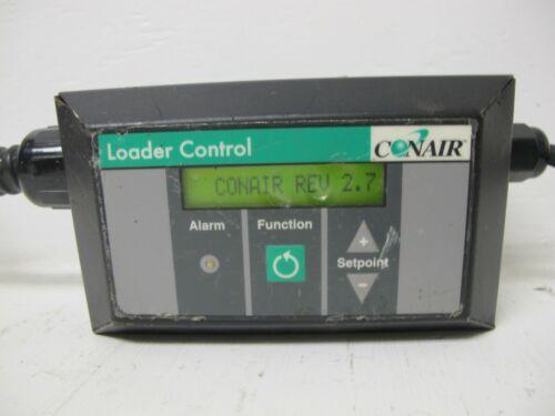 Conair Loader Control Vacuum Loader Controller Panel Selectronic 120 VAC Rev 2.7