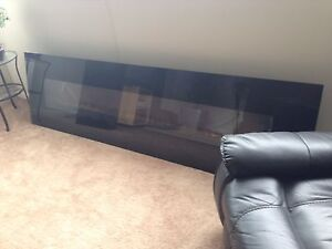 9ft electric wall mount  fireplace