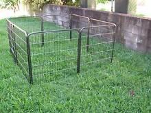 NEW Pet Exercise Encl Fence Play Pen Run Gate-8 PANEL X 80cm Greenslopes Brisbane South West Preview