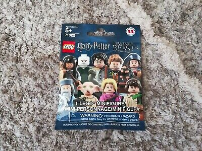 Lego Percival Graves SEALED Collectible Minifigure Fantastic Beasts Grindelwald