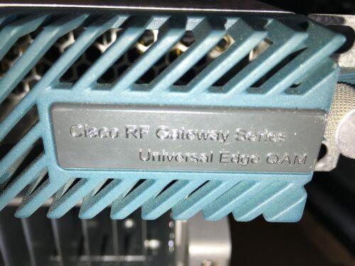 CISCO RFGW-1-D CISCO RF GATEWAY SERIES UNIVERSAL EDGE QAM 4019011