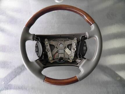 Jaguar XJ8 Woodgrain Steering Wheel Glenside Burnside Area Preview