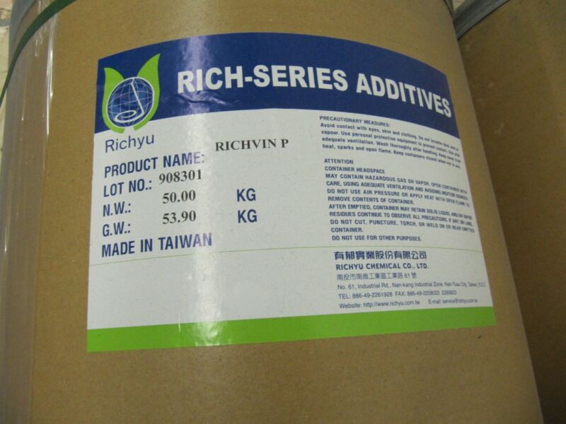 Uv Absorbers: Benzotriazole Type 50 Kg/bag Richvin P
