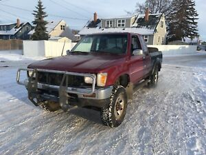 1990 Toyota 4x4 pickup 5 speed