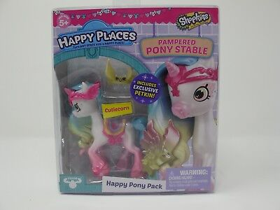 Shopkins Happy Places/Happy Pony Pack Cutiecorn