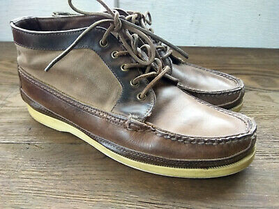 Red Wing Size 7,5 Wabasha  Leather Canvas Boots