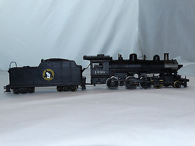 Varney HO Scale Great Northern 4-6-0 Steam Locomotive & Tender Rd#1496 on Rummage