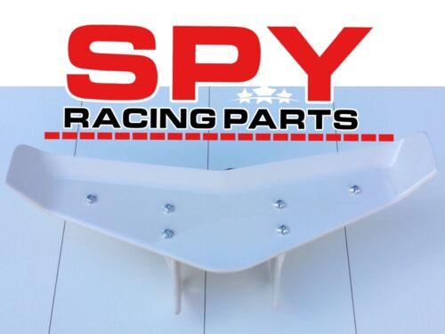 Spy 250/350 F1-A Alerón Trasero Blanco legal para carretera Cuatrimoto Piezas,