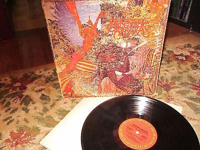 Santana Abraxas Vinyl Record Album