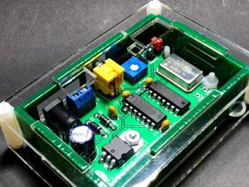 Crystal Calibrator Marker Generator 100, 50 & 25 KHz + Laser Cut Acrylic Case