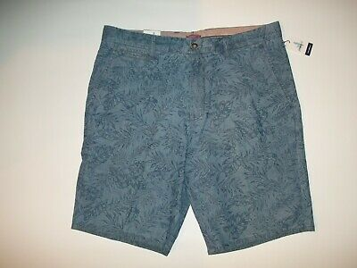 johnnie-O Runaway Frond-Jacquard Regular Fit Mens SHORTS Size 36 NEW