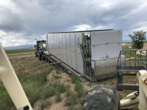 GUOXIN Continuous Flow High Capacity Hemp Dryer 1,000lbs Per Hour