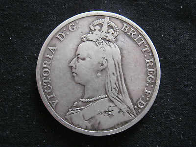 1890 Victoria Sterling Silver Crown