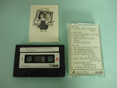 Carpenters An Old-Fashioned Christmas 1984 Japan Promo Cassette Tape 110-100A1