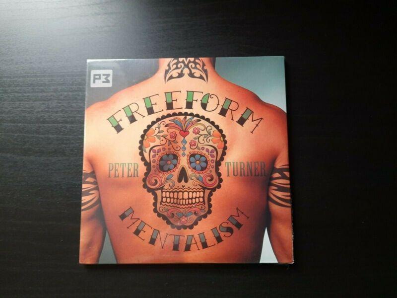 Freeform Mentalism - 2 DVD Set - Peter turner - Magic Mentalism -New And Sealed.