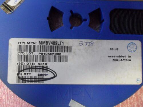 MMBV409  DIODE VARACTOR 20V SOT-23 MOTOROLA (50 PER LOT)