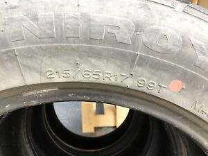 ***4 GOODYEAR TIRES 215/65/R17 GOOD CONDITION***