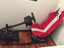 Logitech Steering Wheel with MONZA RACE SEAT Bedford Bayswater Area Preview