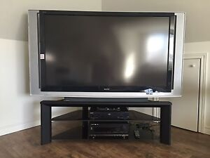 """SONY 60"""" XBR1 LCD Rear Projection Television 1080i/720p"""