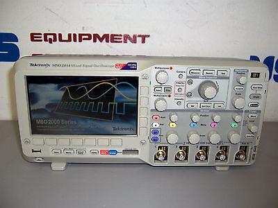 9504 Tektronix Mso2014 Mixed Signal Oscilloscope 16 Ch Mso 100mhz 1gss