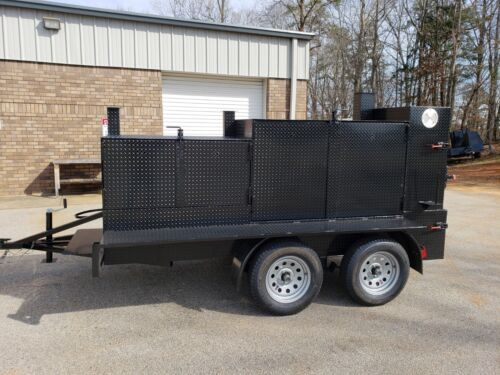 Iron Pig Pitmaster BBQ Smoker Grill Trailer Food Truck Mobile Catering Kitchen