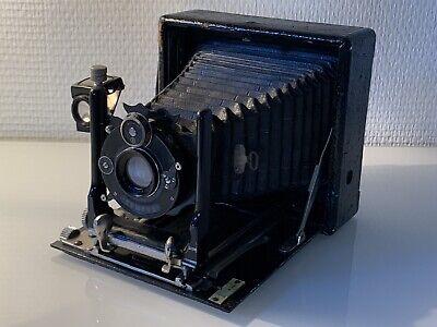 Rare Original Vintage Folding Plate 9 Cm X 12 Cm Camera Lens Rodenstock 35 Mm