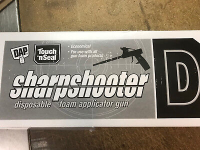 Dap Touch N Seal Sharpshooter D Reusable Foam Applicator Gun 9700074758