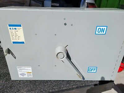 Eaton Cutler Hammer Fdpw366r Panel Switch 600 Amp 480 Volt Reconditioned