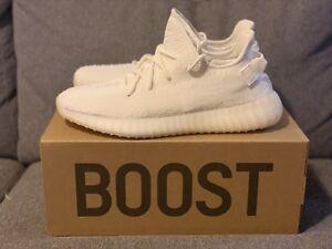 Yeezy 350 V2 Triple White, size 12