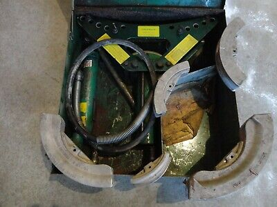Greenlee 880 Hydraulic Bender 12 To 2 One-shot Complete With Pump