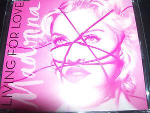 Madonna Living For Love Rare UK 4 Track Remixes CD Single