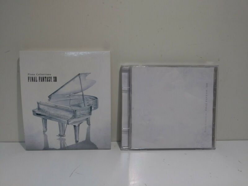 FINAL FANTASY XIII 13 PIANO COLLECTIONS Art Set Score CD Game Music