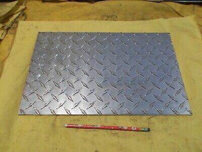 Aluminum Tread Plate Diamond Sheet Flat Stock 14 X 10 X 16