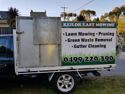 Lawn mowing trailer/ tool box and cage /trailer Keilor East Moonee Valley Preview