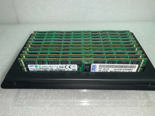 Lot of 10 Mixed DDR3 R-Series Server Memory RAM