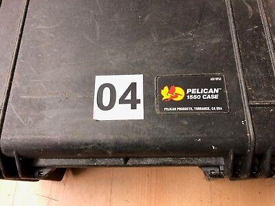 Peli Case Pelicase Hardigg 1550 Notfallkoffer Beatmungskoffer 52 cm 38 cm 24 cm