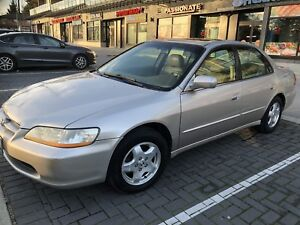 1998 V6 Honda Accord Sedan with winter tires