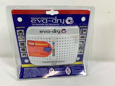 Rhino Metals  Eva-Dry-EDV300-Dehumidifier For Gun Safe, Boat, RV New Sealed D2