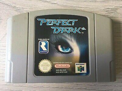 Nintendo 64 N64 PAL game Perfect Dark - Cart only - Free UK postage