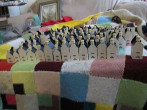 A large collection of KLM Bols Delft Miniature Houses