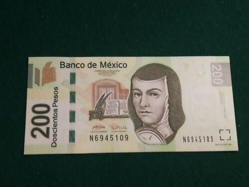 MEXICO 200 PESOS 2007 UNC