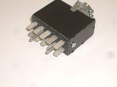 Cinch Jones Beau Molex P-2410h-cct Power Connector Plug 10 Pin Rohs Metal Hood