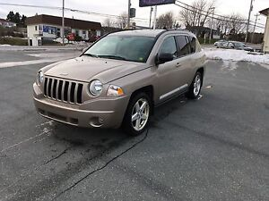2010 Jeep Compass Ltd with leather